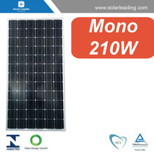 210w chinese solar panels for sale with silicon wafer solar cell for solar panel system