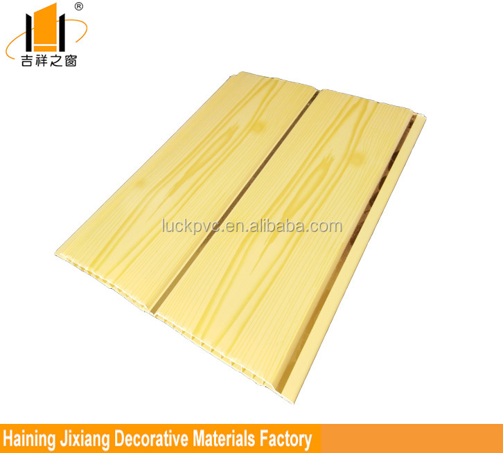 Printing wood grain PVC Ceiling Panel for house decoration
