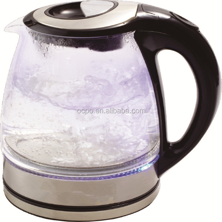 customized glass teapot to boil water factory price