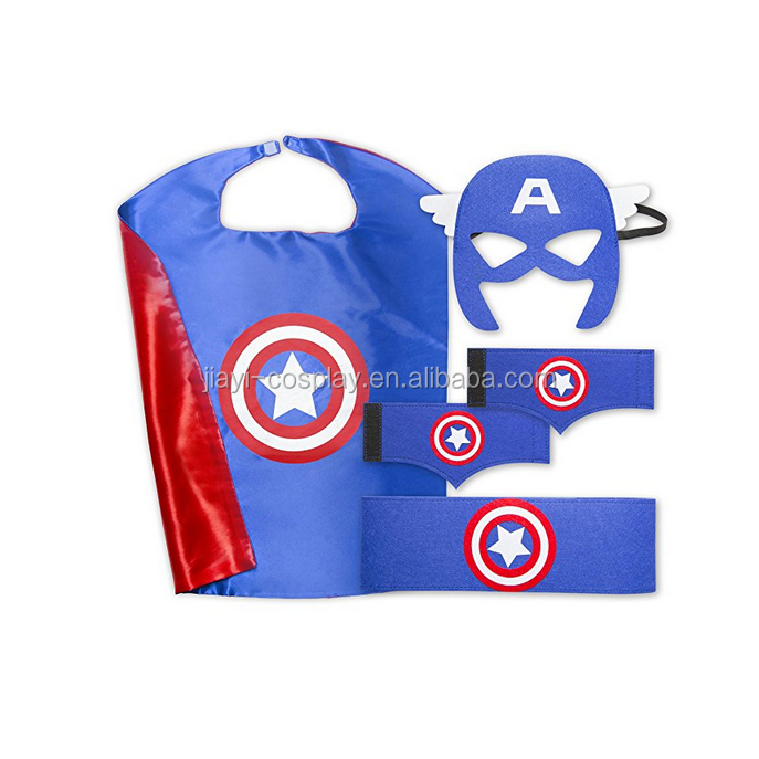 Wholesale halloween party adult super hero capes