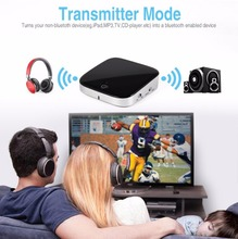 2 in 1 Bluetooth 4.1 Audio Transmitter Receiver Wireless A2DP Bluetooth Audio Adapter Portable Audio Player Aux