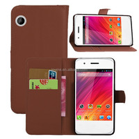 wallet leather card slot stand case for wiko ozzy