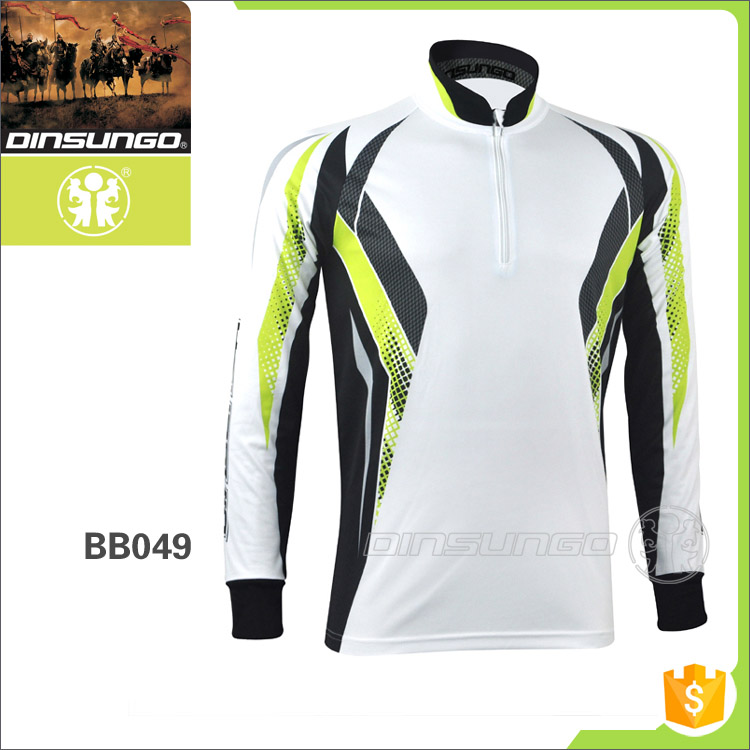 sport fishing clothes, fishing apparel, tournament fishing jersey dinsungo BB049