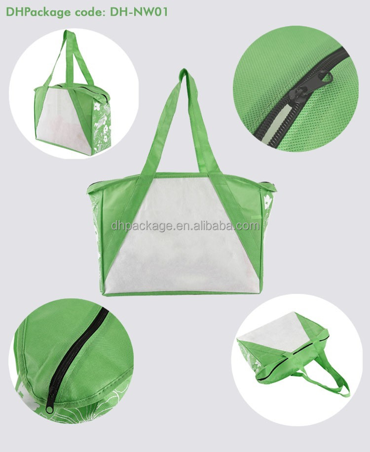 The centre of down twon custom printing Reusable Non-Woven Tote Bag