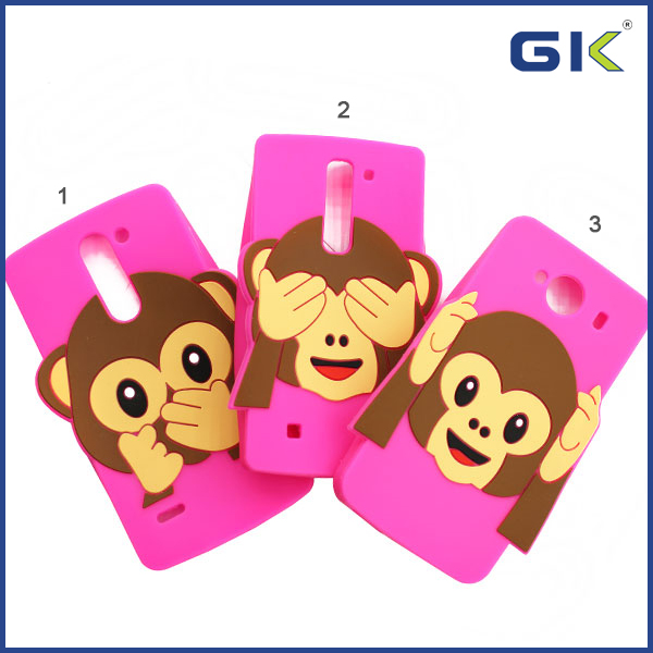 Monkey silicon Case For IPhone 6