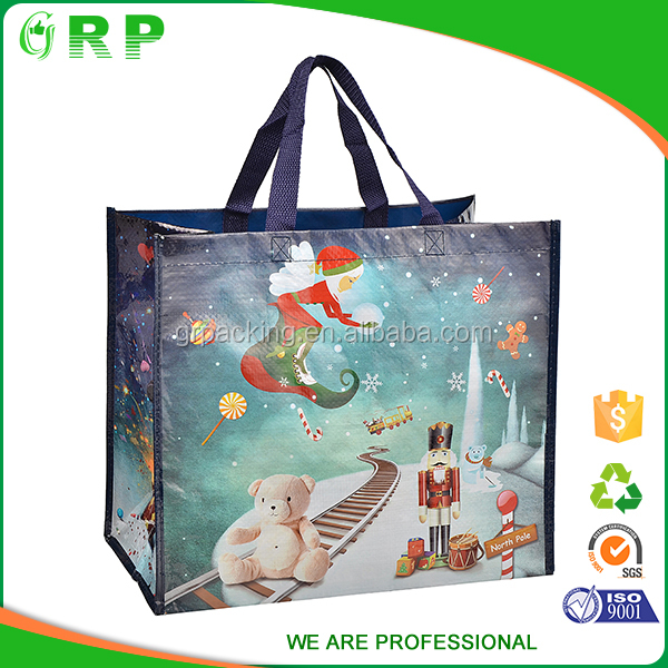 Recycled nonwoven bag tote bag with logo