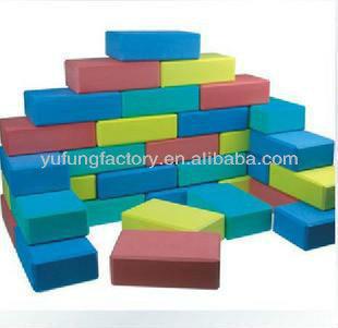 Eva foam building block large foam building blocks buy for Foam building blocks for houses