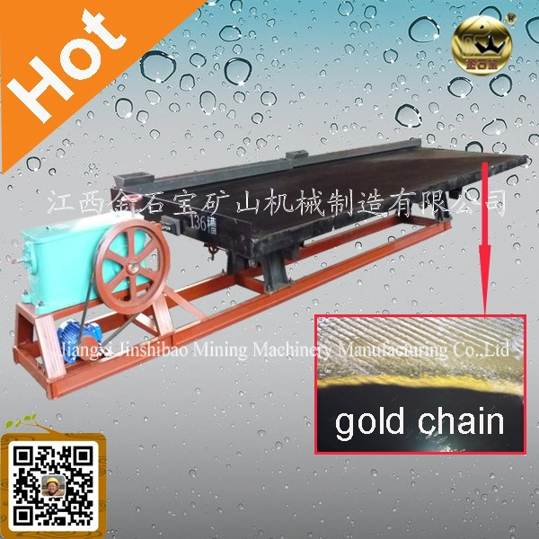High Recovery Gold Separation Shaking Table Having Both Single Layer & Double Layers