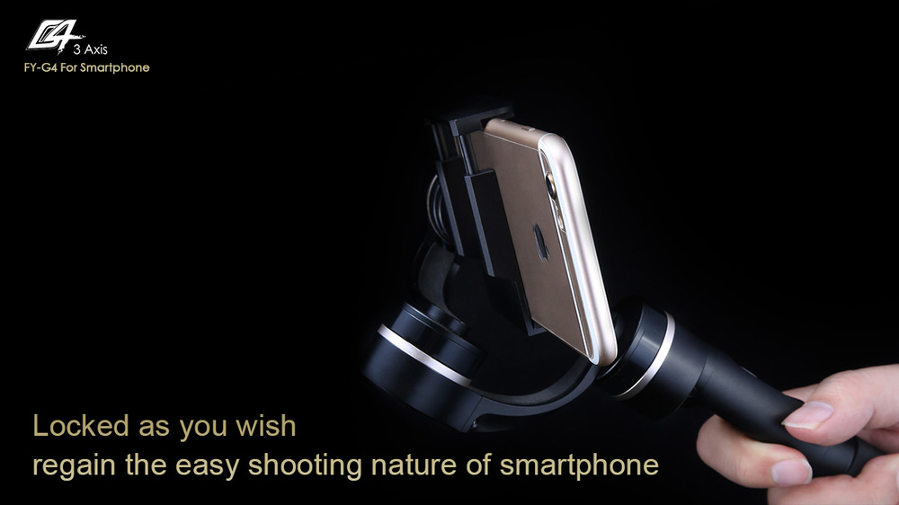 FY G4 3axis handheld voltage stabilizer for cellphone iphone 4/5/6