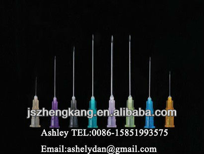 needle color code