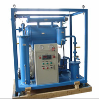 Weather Proof Single Stage Vacuum Transformer Oil Filtration Machine with Oil Tester