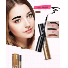 2017 New Style Natural Tearing Tattoo Eyebrow Gel Super Lasting for 72h Waterproof Professional Peel Off Eyebrow Tint Dye Makeup
