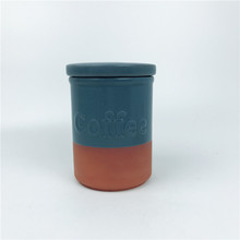 Ceramic Seal pot Airtight canister Storage jar Terracotta Canister
