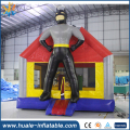 Batman inflatable bouncy house Mini bouncer house cartoon castle for party rental