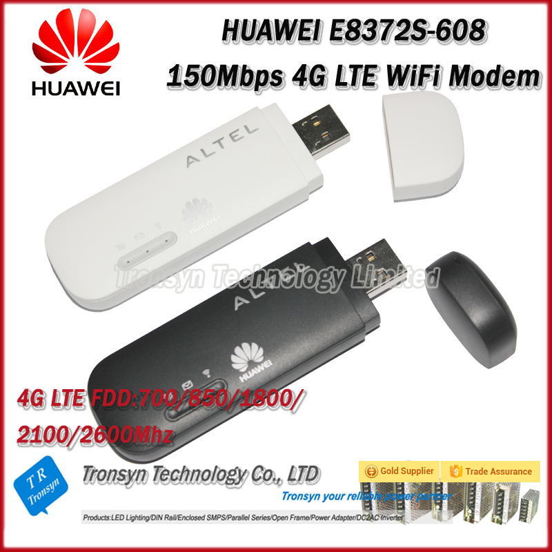 Hot Sale Original Unlock 150Mbps E8372 4G LTE WiFi <strong>Modem</strong> With Sim Card Support 700 850 1800 2100 2600Mhz