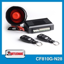 Modern new arrival china factory best manufacturer auto car trunk security alarms system with two stage shock sensor