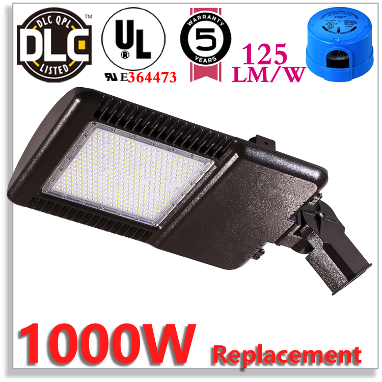 LED Exterior Lighting Fixtures 265w External Light For 1000w HPS/HID/Metal halide Replacement