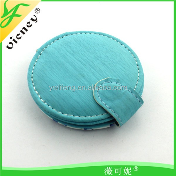 Factory Price Leather Mirror for Best Travelers use / Lovely Custom Logo Mirror