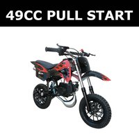 49CC pull start motorcycle,forced air-cooled mini bike