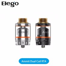 Newly Designed Dual Coil Version 100% Genuine GeekVape Ammit Dual Coil RTA
