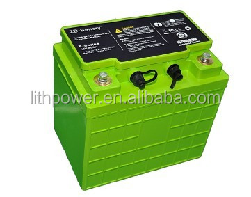 18650 rechargeable lifepo4 12v 30ah lithium ion phosphate marine battery with 2000cycles