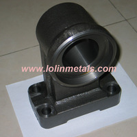 OEM Cast Iron Support roller for mining machinery