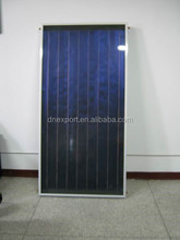Flat Plate Solar Collector with blue fin Solar Water Heater Flat Plate Panel Type