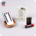 Improved Design with Timer 3AA Battery Remote Control Led String Lights