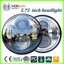Motorcycle 5.75 Inch Chrome black LED motorcycle headlight front head light