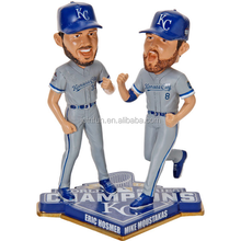 pvc bobblehead figurines, sports figure plastic bobblehead, oem manufacturing figurine factory