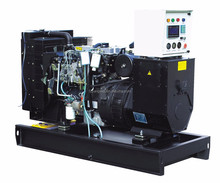 Lovol engine 1004TG 70kva diesel generator set with good cooling system