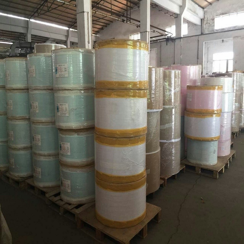 241x6000m 100% WoodpulpJumbo Roll Carbonless Paper