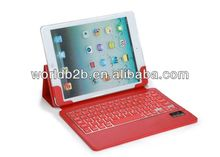 Ultra-slim Bluetooth Wireless Keyboard Case for iPad Air/iPad 5,with fold stand