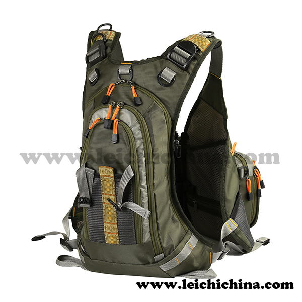In stock fishing backpack fly fishing vest buy fishing for Fly fishing backpack