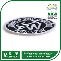 Custom Polyester Fabric Patch,Garments Embroidery Patches