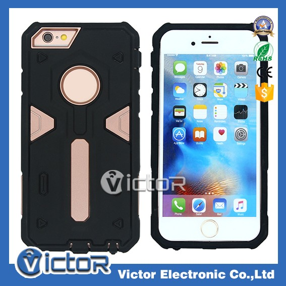 Hot selling cellphone accessories warrior shockproof for iPhone6 case