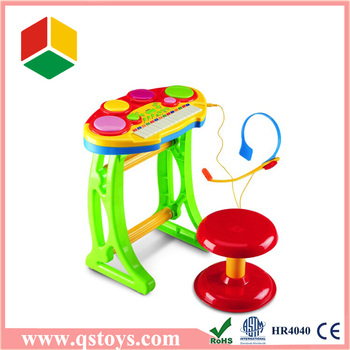 Kids plastic musical keyboard toys for sale