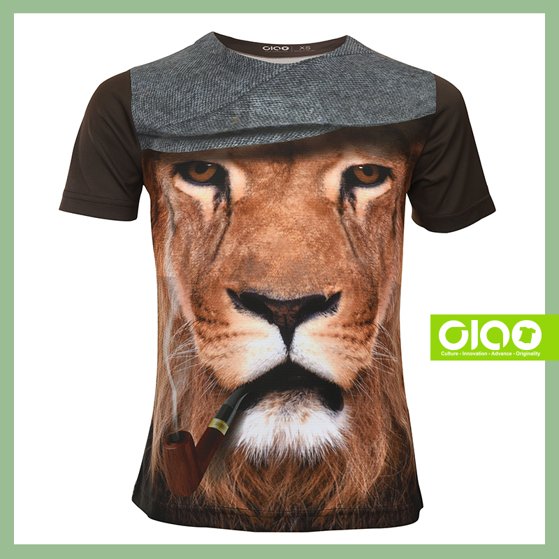 Ciao quick dry sublimation led t shirt with great price