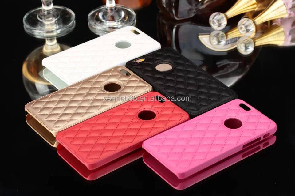 Hot Sale High Quality Leather Case Cover Hard Back Plastic Case Protector For iphone 5 5S Newest