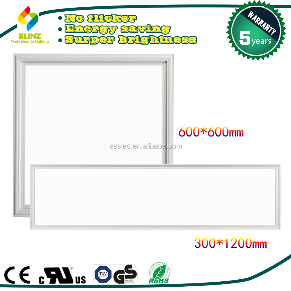 300x1200 ceiling dimmable led panel light parts surface recessed 45w rgb led panel light-S13