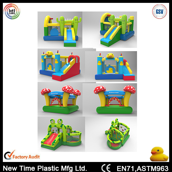 Advertising Inflatable Mini Mushroom Jumpers Castle Bouncy For Kids