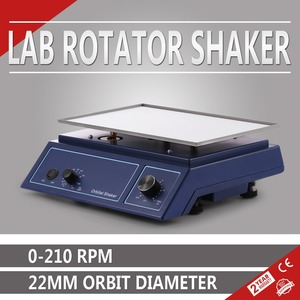 Adjustable Speed Oscillator 22mm Diameter Lab 12.4 x 8.5 Inch Orbital Platform Shaker