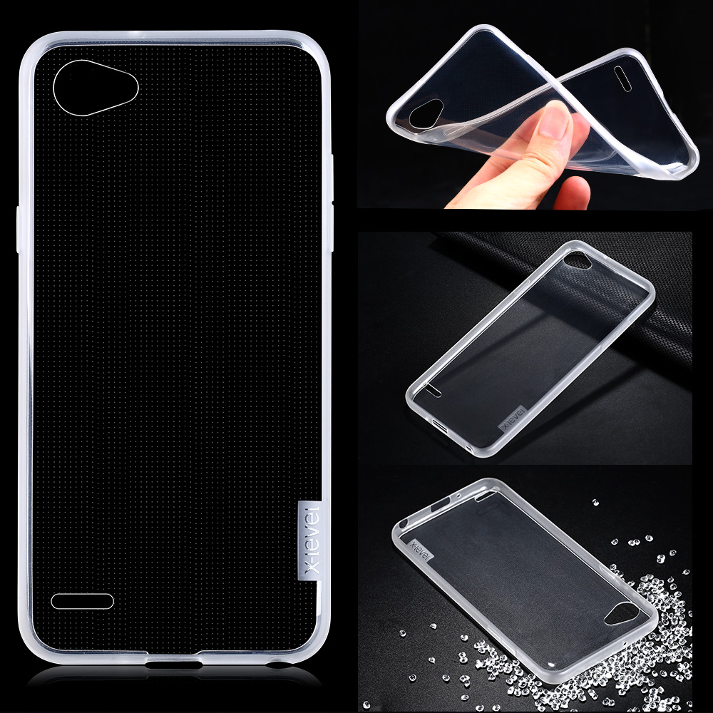 China Supplier Soft TPU Back Cover Phone Case for LG Q6 Wholesale