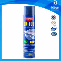 2015 Hot sales no formaldehyde spray on glue adhesive