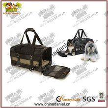 Roll up design plastic pet carrier