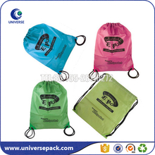 wholesale polyester drawstring bags backpack beach bags