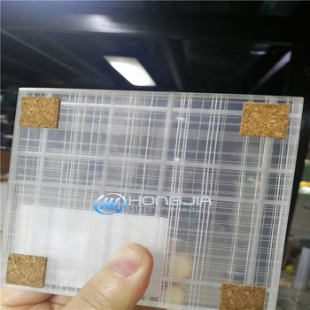 High quality laminated art glass for interior decoration