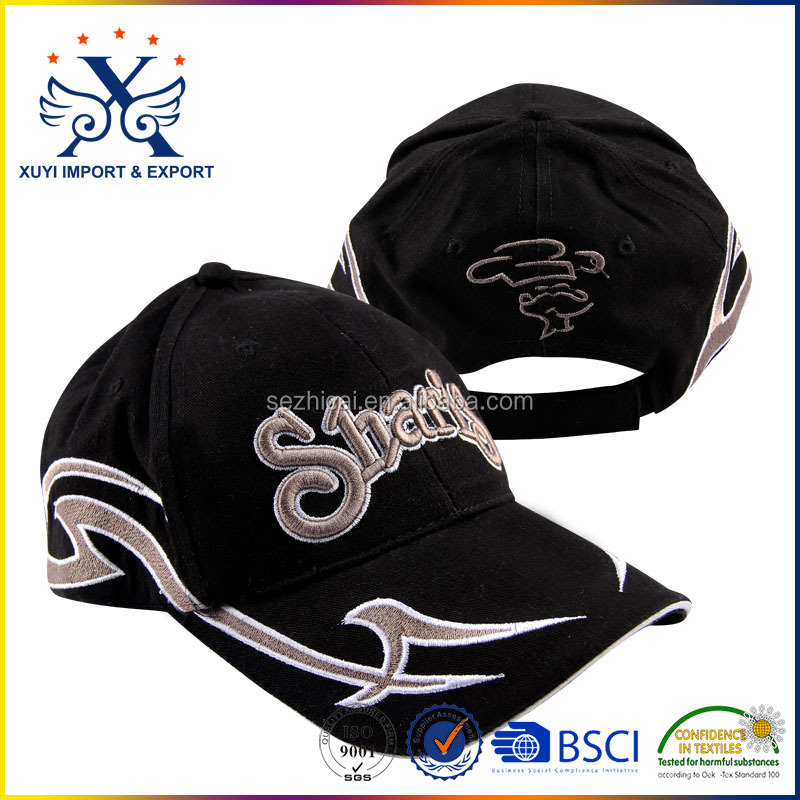 Embroidered printed racing cap sports caps wholesales