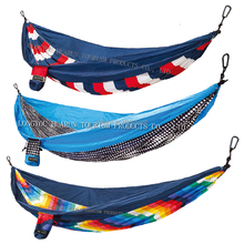 HR Superlight Double Parachute printing Camping Hammock