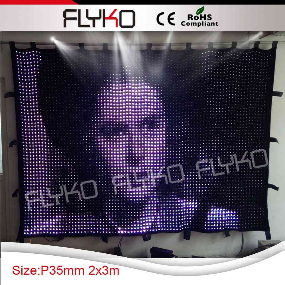 alibaba china play full sexy movies led vision video curtain